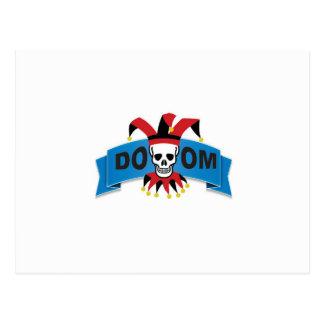 doom death image postcard