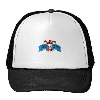 doom death image trucker hat