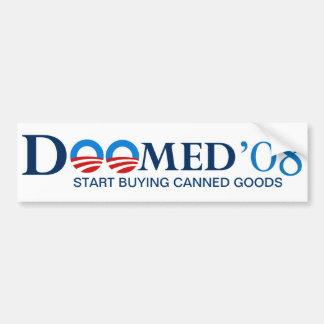 Doomed 08 Bumper Sticker