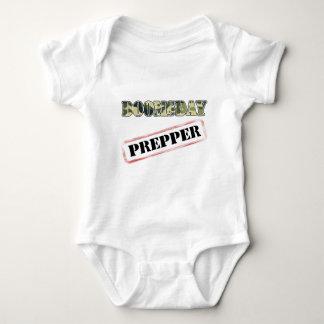 DoomsDay Prepper Stamp Baby Bodysuit