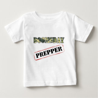 DoomsDay Prepper Stamp Baby T-Shirt
