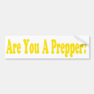 Doomsday Preppers sticker