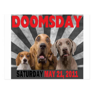 Doomsday - Rapture  May 21, 2011 Postcard