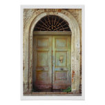 Door-Acciaroli,Italy Poster