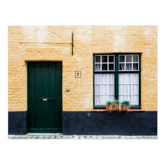 Door and window postcard