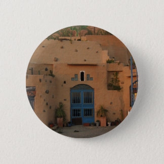Door Cool Clay House Photo Round Badge 2 Inch Round Button