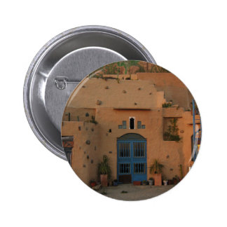 Door Cool Clay House Photo Round Badge 2 Inch Round Button