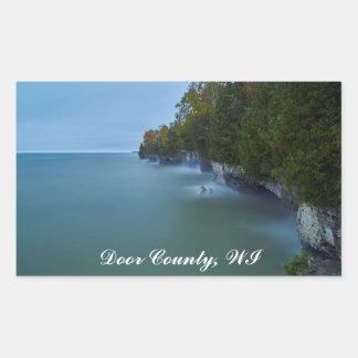 Door County Cave Point Cliffs