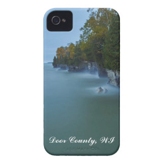 Door County Cave Point Cliffs iPhone 4 Case-Mate Cases