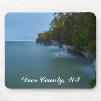 Door County Cave Point Cliffs Mouse Pad