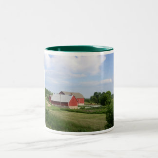 Door County Farm Mug