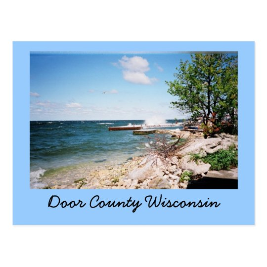 Door County Wisconsin Postcard