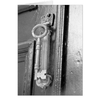 Door handle, Ft. Sumter Magazine Key Card