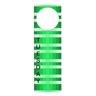 Door Hanger Visual Identifier Tuesday