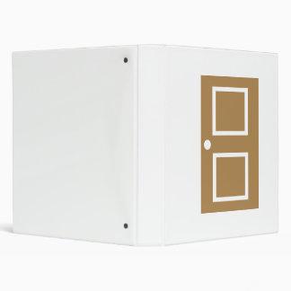 Door house vinyl binder
