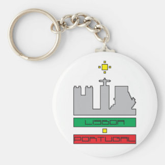 Door-keys Monuments of Lisbon-Portugal Keychain