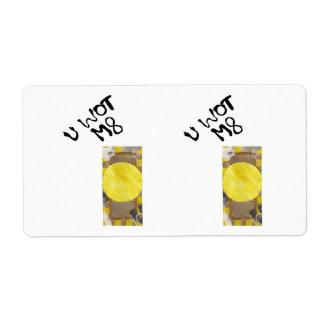 Door Knob Shipping Labels