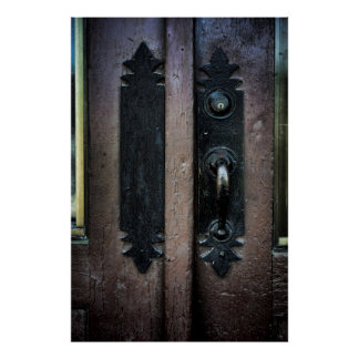 DOOR LATCH WWP POST ST. SUBSTATION SPOKANE POSTER