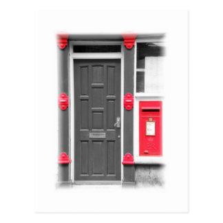 Door & Letterbox Postcard