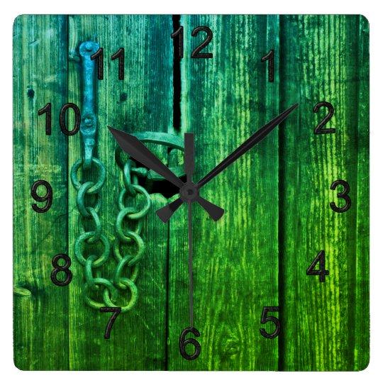 Door lock clocks