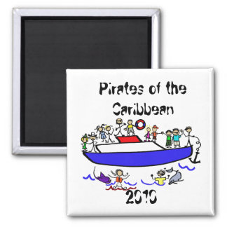 Door Magnet - Pirates of the Caribbean