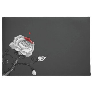 Door Mat - Painting the Roses Red