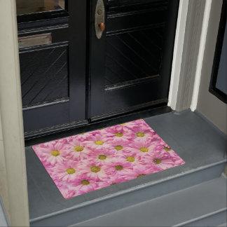 Door Mat - Pink Gerbera Daisies