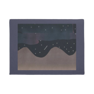 Door Mat with Starry Sky