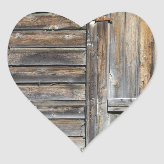 Door of Opportunity Heart Sticker
