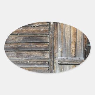 Door of Opportunity Oval Sticker