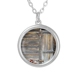 Door of Opportunity Silver Plated Necklace