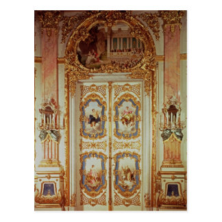 Door of the Porcelain Room Postcard