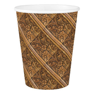 door patern paper cup