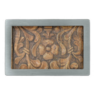 door patern rectangular belt buckle