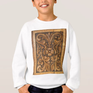door patern sweatshirt