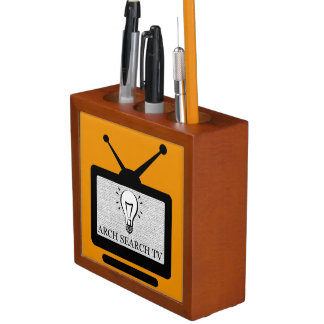 Door pencil Arch Search TV Desk Organizer