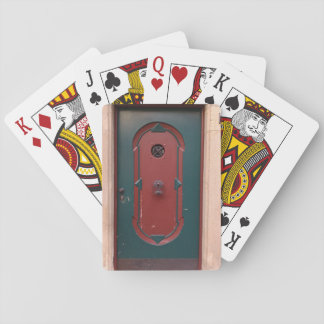 Door Photo Classic Playing Cards
