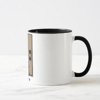 """DOOR STOP"" 11 oz. RINGER TURTLE COFFEE MUG"