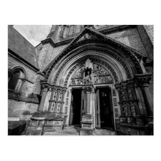 """""""Door way to the Gothic cathedral"""" postcards"""
