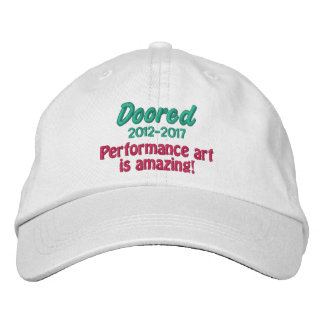 Doored 2012-2017 Commemorative Hat Embroidered Baseball Cap