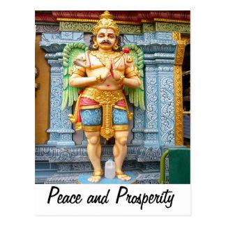 Doorkeeper, from a Hindu temple Postcard