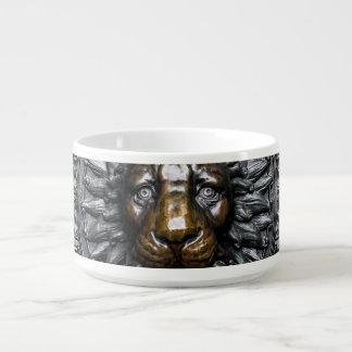 Doorknocker Lion - Black / Gold Bowl