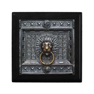 Doorknocker Lion - Black / Gold Gift Box