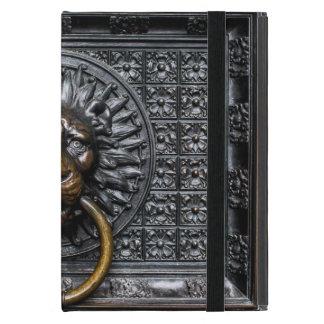 Doorknocker Lion - Black / Gold iPad Mini Case