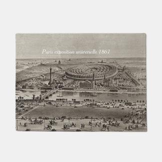 doormat paris 1867
