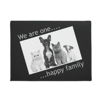 Doormat - We are one happy Family