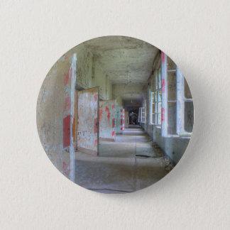 Doors and Corridors 02.1, Lost Places, Beelitz 2 Inch Round Button