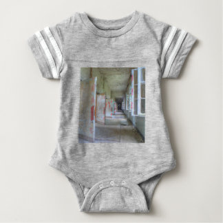 Doors and Corridors 02.1, Lost Places, Beelitz Baby Bodysuit