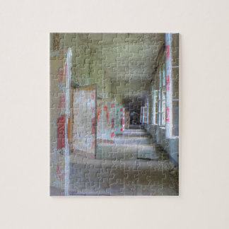 Doors and Corridors 02.1, Lost Places, Beelitz Jigsaw Puzzle