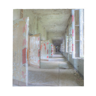 Doors and Corridors 02.1, Lost Places, Beelitz Notepad